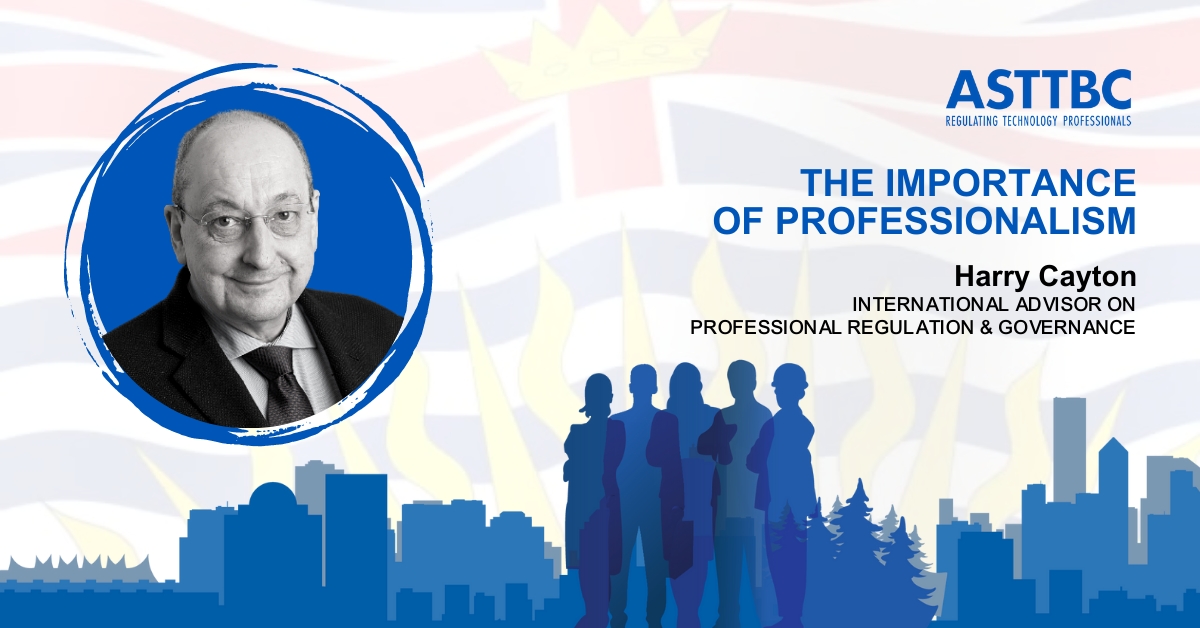 The Importance of Professionalism & Professional Governance